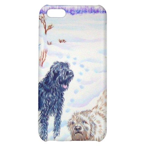 Snow Labradoodles iPhone 5C Case