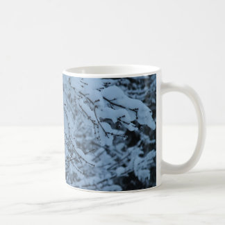 Snow Laden Branches Coffee Mug