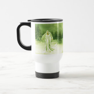 Snow Lady Travel Mug
