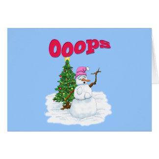 family christmas card template