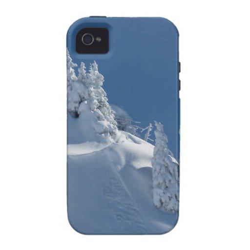 Snow Landscape iPhone 4/4S Covers