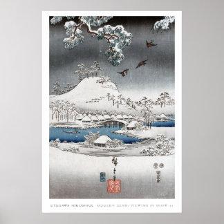 Snow Landscape Poster 2