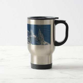 Snow Landscape Travel Mug