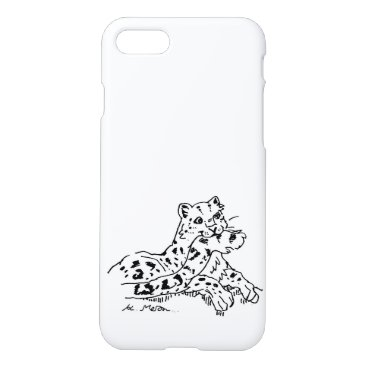 Snow Leonard iPhone 7/8 Case #2