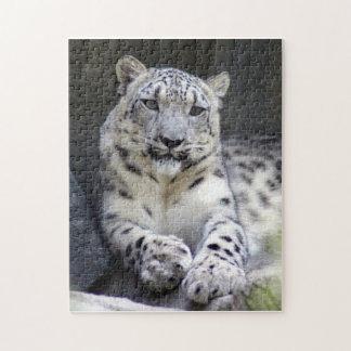 snow leopard 27 jigsaw puzzle