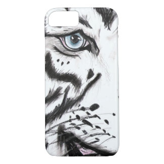Snow Leopard 2 (Kimberly Turnbull Art) iPhone 8/7 Case