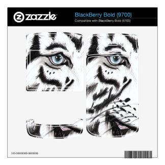Snow Leopard 2 BlackBerry Bold Decal