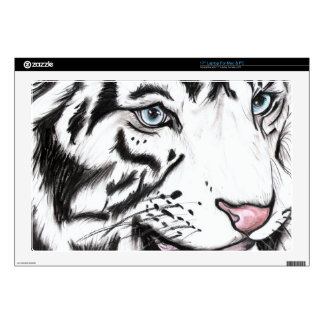 Snow Leopard 2 Decal For Laptop