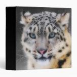 Snow Leopard 3 Ring Binders