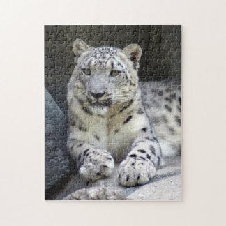 snow leopard 6 jigsaw puzzle