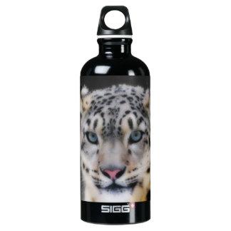 Snow Leopard Aluminum Water Bottle