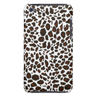 Snow Leopard Animal Print Barely There iPod Cover