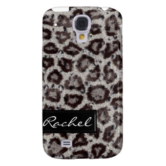 Snow Leopard Animal Print iPhone3G Cover Galaxy S4 Covers