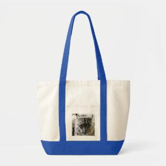 Snow Leopard Canvas Bags
