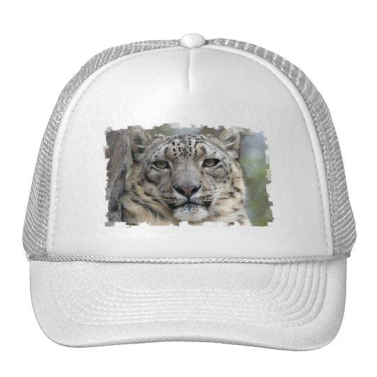 Snow Leopard Baseball Cap Trucker Hat