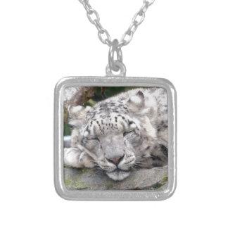 Snow Leopard - beautiful! Necklace