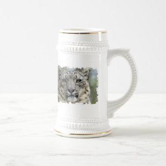 Snow Leopard Beer Stein Coffee Mugs