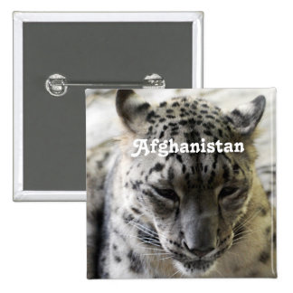 Snow Leopard Pinback Buttons