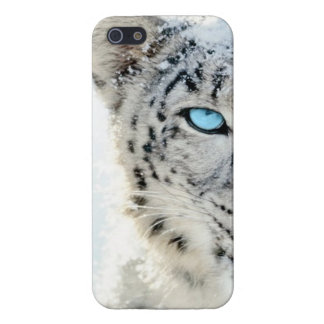 SNOW LEOPARD COVER FOR iPhone SE/5/5s