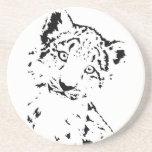 Snow Leopard Cub Infant T-Shirt Coaster