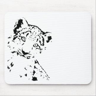 Snow Leopard Cub Infant T-Shirt Mouse Pad