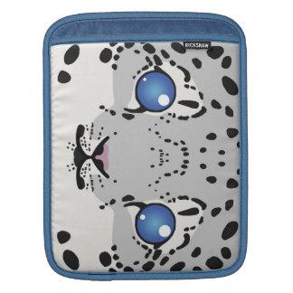 Snow Leopard Cub iPad Sleeve