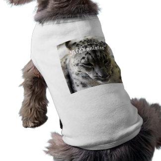 Snow Leopard Dog Tee