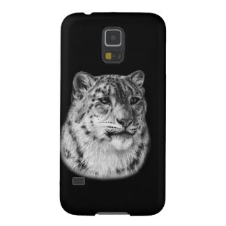 Snow Leopard Drawing Galaxy S5 Case