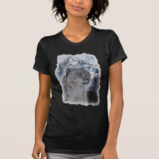 SNOW LEOPARD Endangered Species of Big Cat T-Shirt