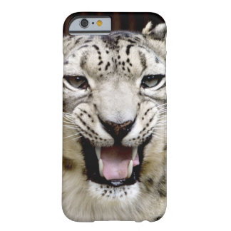 Snow Leopard Face Barely There iPhone 6 Case