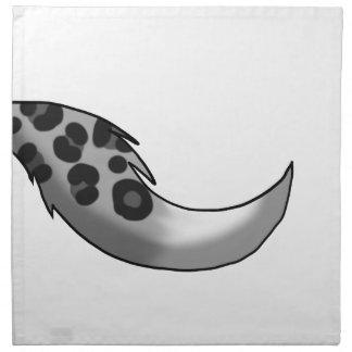 Snow Leopard/Fox Hybrid Tail