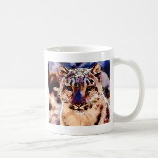Snow Leopard Fun Coffee Mug