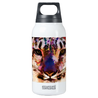 Snow Leopard Fun Insulated Water Bottle