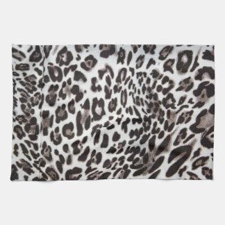 Snow Leopard Fur Hand Towel