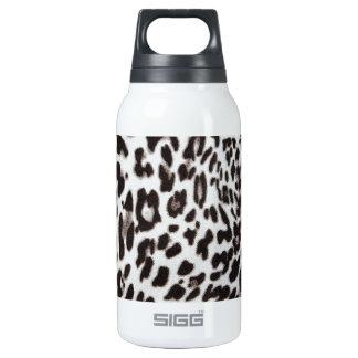 Snow Leopard Fur Insulated Water Bottle