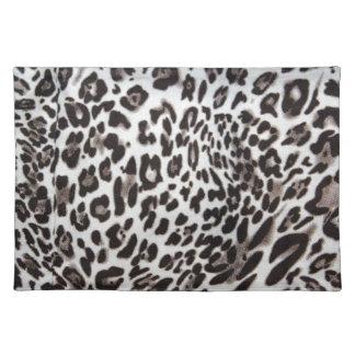 Snow Leopard Fur Placemat