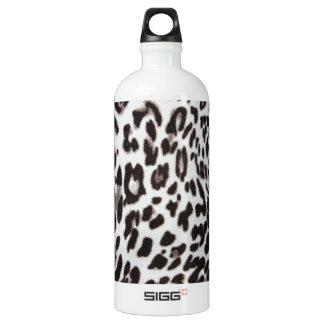 Snow Leopard Fur Water Bottle