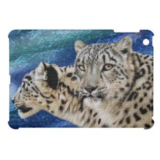 Snow Leopard Habitat iPad Mini Cases