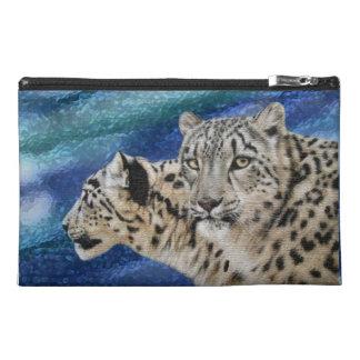 Snow Leopard Habitat Travel Accessory Bag