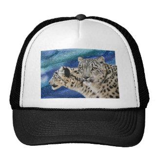 Snow Leopard Habitat Trucker Hat