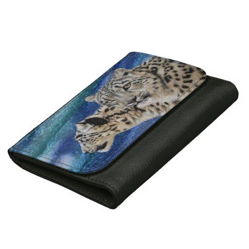 Snow Leopard Habitat Wallets