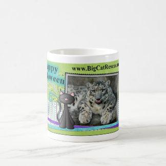 Snow Leopard Halloween Mug