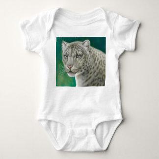 Snow Leopard Infant Baby Bodysuit