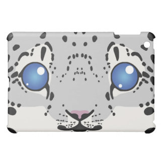 Snow Leopard iPad Case (Cub)