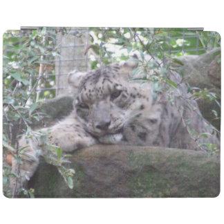 Snow Leopard iPad Cover
