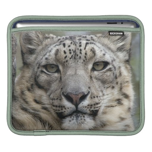 Snow Leopard  iPad Sleeve
