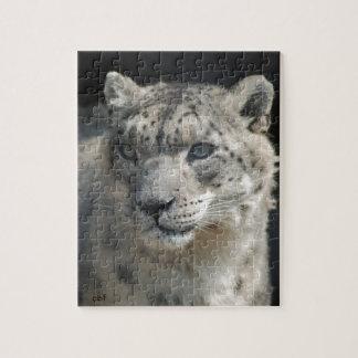 Snow Leopard Jigsaw Puzzle