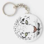 Snow Leopard Key Chains