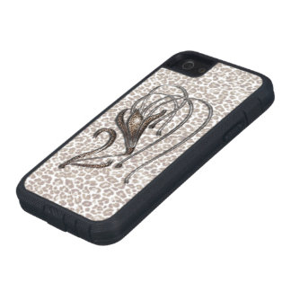 Snow Leopard Lily Case For iPhone SE/5/5s