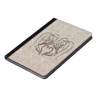 Snow Leopard Lily iPad Air Case